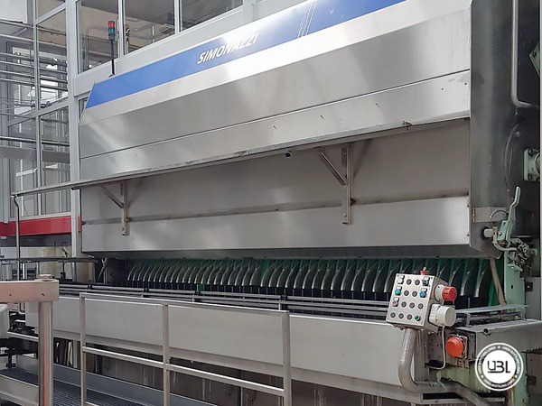 Used Isobaric Complete Glass Line for Sparkling Water, Water 60000 bph - 10