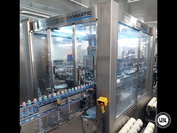 Used Isobaric Complete PET Line for Sparkling Water, Water 12500 bph - 13