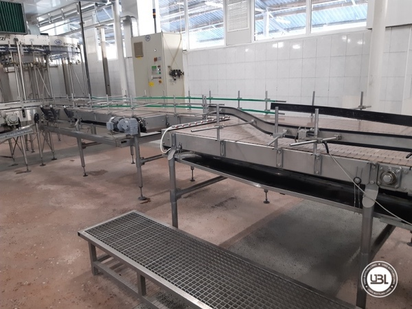 Used Isobaric Complete PET Line for Sparkling Water, Water 12500 bph - 17