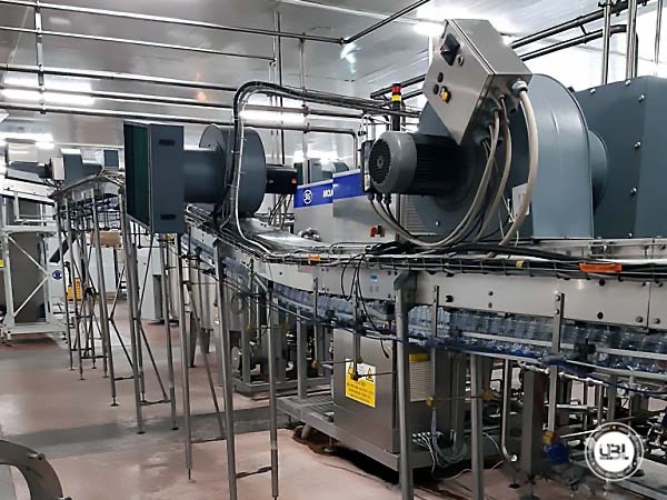 Used Isobaric Complete PET Line for Sparkling Water, Water 12500 bph - 26