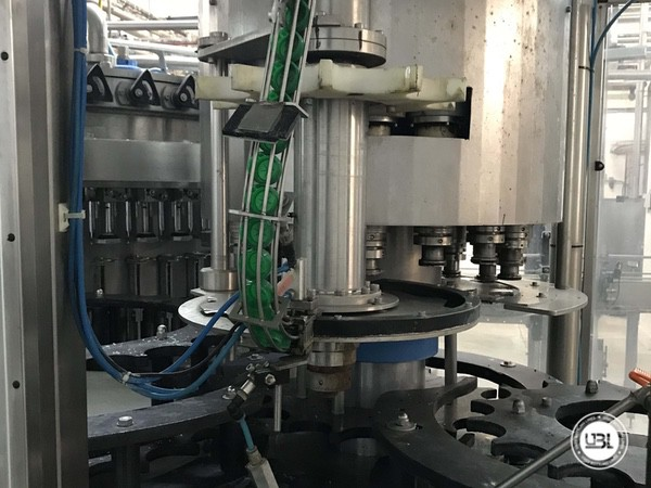 Used Isobaric Complete PET Line for Soft Drinks, Sparkling Water, Water 12000 bph - 15