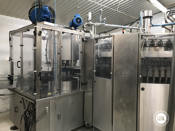 Used Isobaric Complete PET Line for Soft Drinks, Sparkling Water, Water 12000 bph - 16