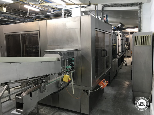 Used Isobaric Complete PET Line for Soft Drinks, Sparkling Water, Water 12000 bph - 6