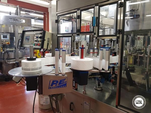 Etichettatrice P.E. Labellers UNIVERSAL MASTER T AX A Type 20T/1420/5S - 5