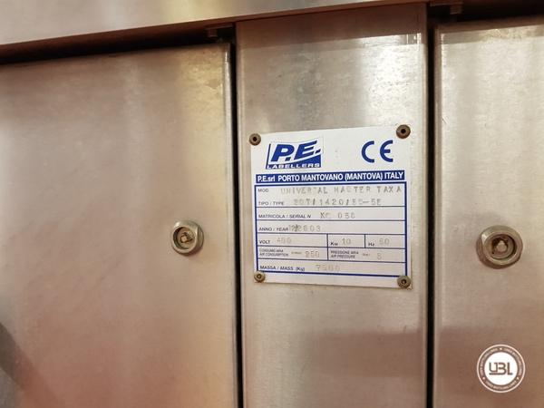 Etichettatrice P.E. Labellers UNIVERSAL MASTER T AX A Type 20T/1420/5S - 6