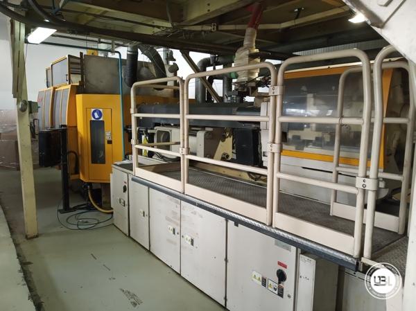 Used Injection Molding Machine Husky INQ250PET - 3