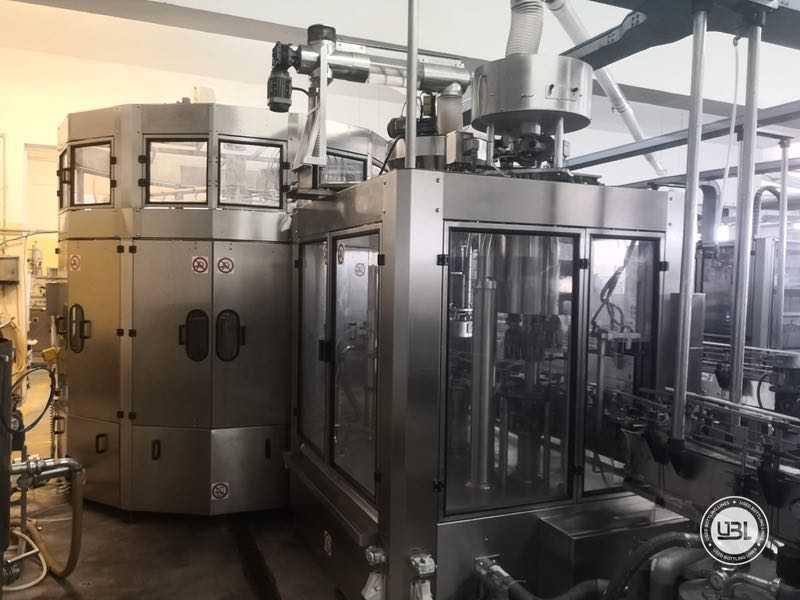 Ligne complète verre d'occasion isobare pour vin mousseux, vin tranquille 8000 bph - 11