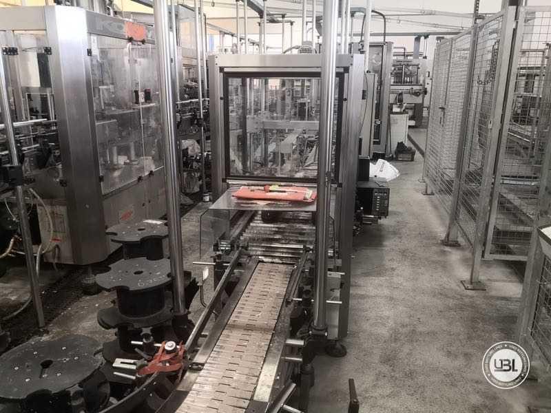 Ligne complète verre d'occasion isobare pour vin mousseux, vin tranquille 8000 bph - 24