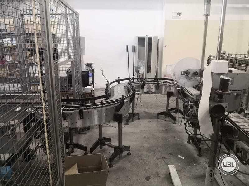 Ligne complète verre d'occasion isobare pour vin mousseux, vin tranquille 8000 bph - 27