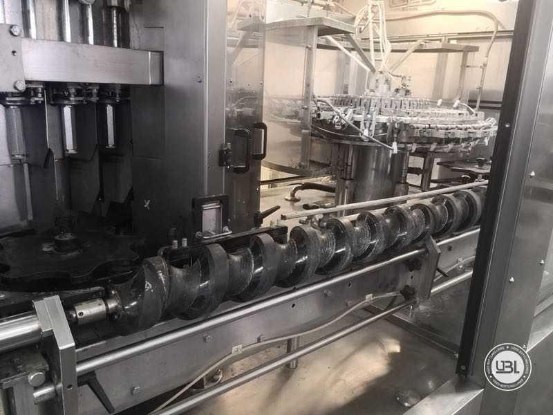 Ligne complète verre d'occasion isobare pour vin mousseux, vin tranquille 8000 bph - 8