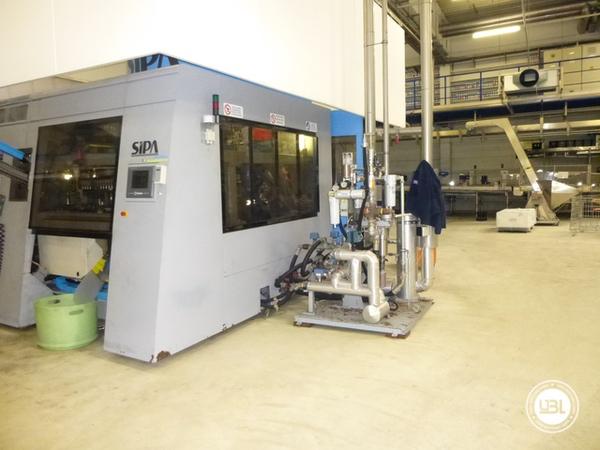 Used Blow Molding Machine Sipa SFR 12 - 1