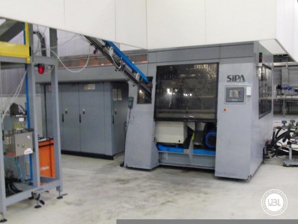 Used Blow Molding Machine Sipa SFR 12 - 2