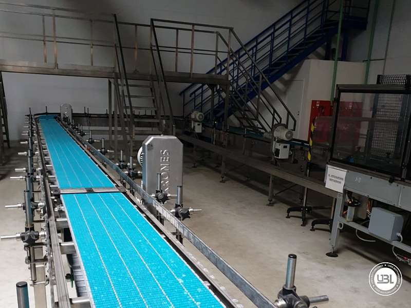 Used Isobaric Complete Can Line for Juice, Soft Drinks, Sparkling Water, Tea, Water 30000 cph - 12