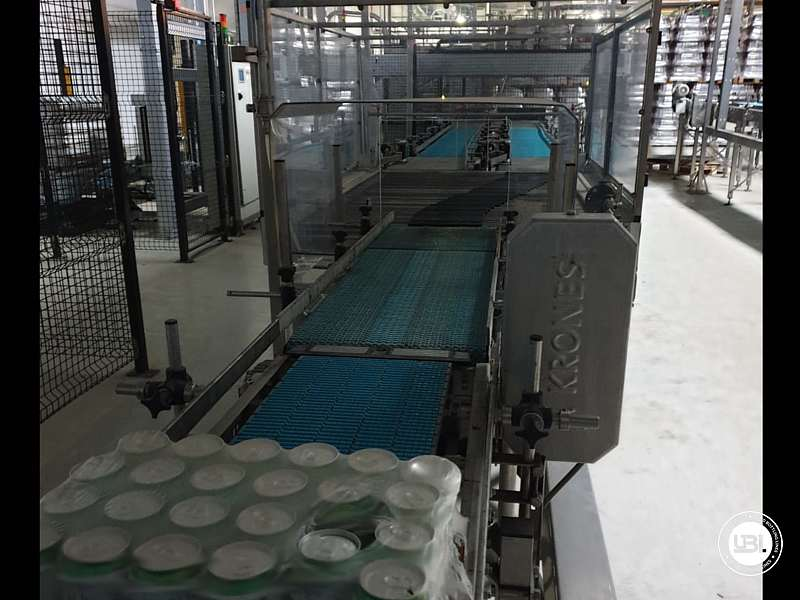 Used Isobaric Complete Can Line for Juice, Soft Drinks, Sparkling Water, Tea, Water 30000 cph - 15