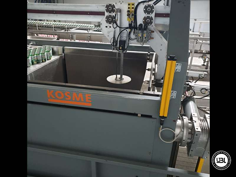 Used Isobaric Complete Can Line for Juice, Soft Drinks, Sparkling Water, Tea, Water 30000 cph - 18