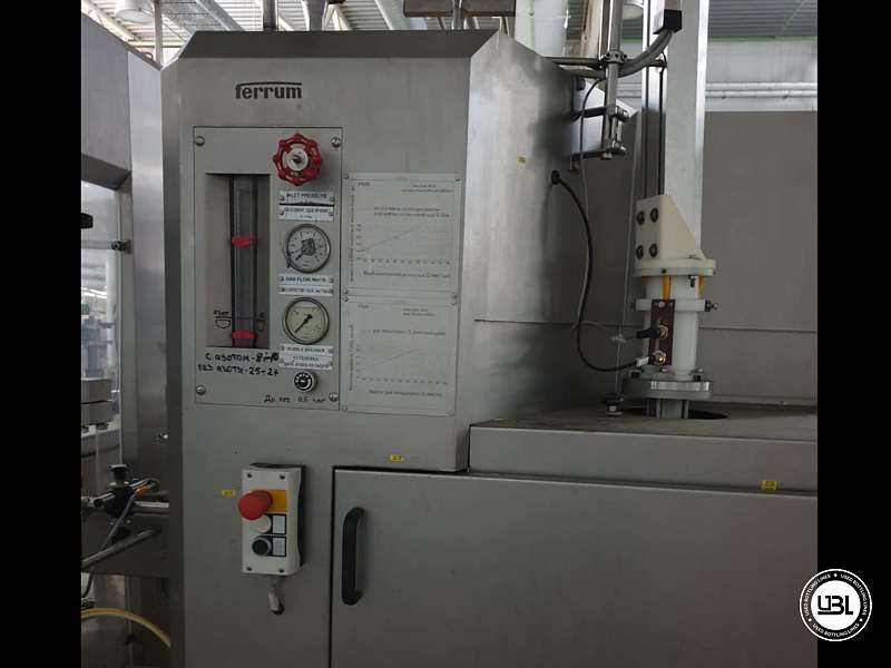 Used Isobaric Complete Can Line for Juice, Soft Drinks, Sparkling Water, Tea, Water 30000 cph - 19