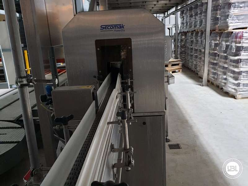 Used Isobaric Complete Can Line for Juice, Soft Drinks, Sparkling Water, Tea, Water 30000 cph - 8