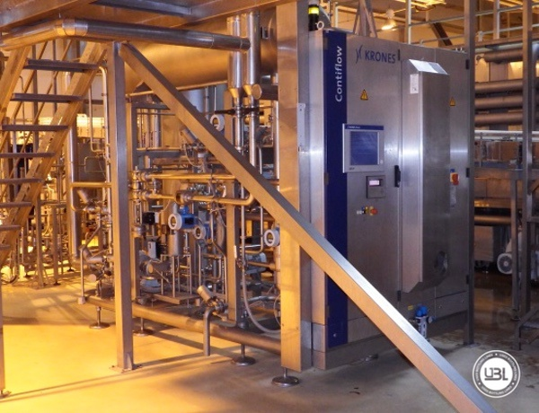 Used Isobaric Complete Can Line for Juice, Soft Drinks, Sparkling Water, Tea, Water 30000 cph - 24