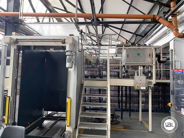 Used Isobaric Complete PET Line for Soft Drinks 2800 bph - 2