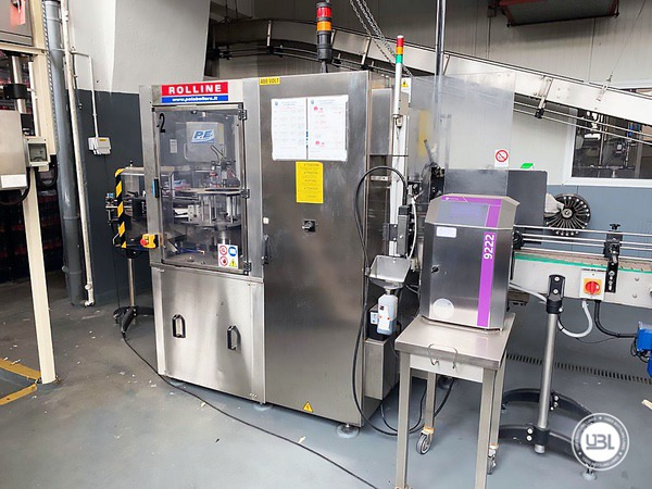 Used Isobaric Complete PET Line for Soft Drinks 2800 bph - 24