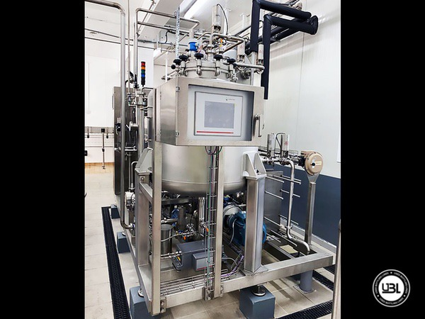 Used Isobaric Complete PET Line for Soft Drinks 2800 bph - 3