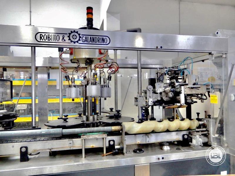 Ligne complète verre d'occasion isobare pour vin mousseux, vin tranquille 8000 bph - 30