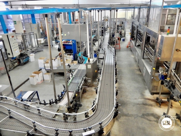 Used Isobaric Complete Glass Line for Sparkling Wine, Still Wine 8000 bph - 1