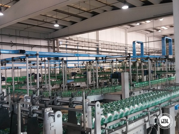 Used Isobaric Complete PET Line for Sparkling Water, Water 35000 bph - 12