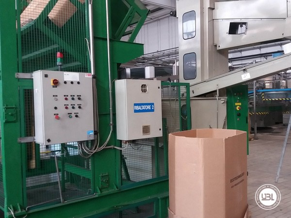 Used Isobaric Complete PET Line for Sparkling Water, Water 35000 bph - 2