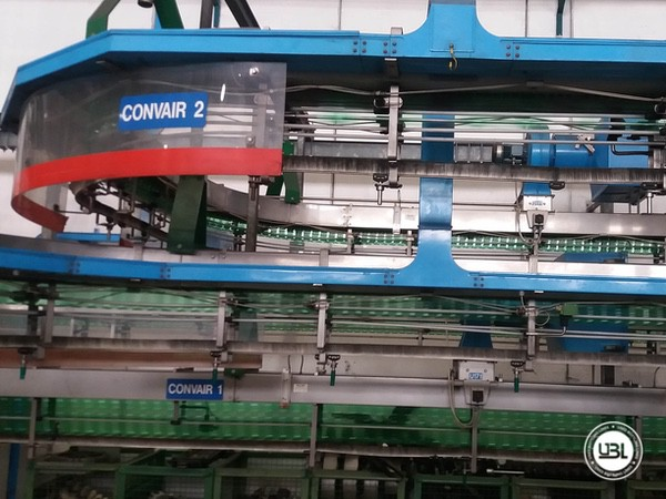 Used Isobaric Complete PET Line for Sparkling Water, Water 35000 bph - 3