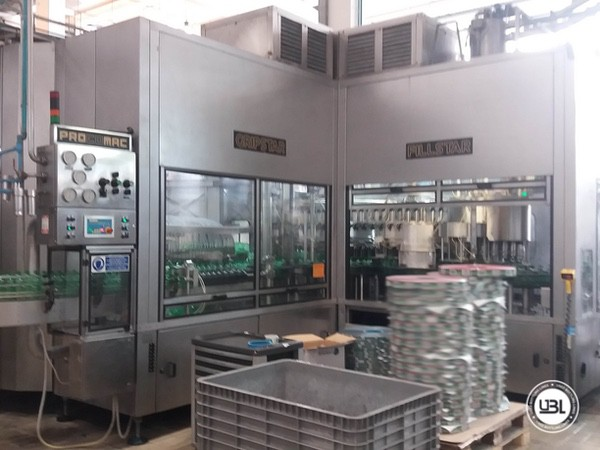 Used Isobaric Complete PET Line for Sparkling Water, Water 35000 bph - 4