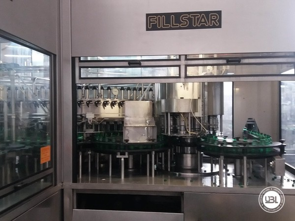 Used Isobaric Complete PET Line for Sparkling Water, Water 35000 bph - 5