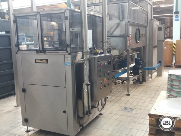 Used Isobaric Complete PET Line for Sparkling Water, Water 35000 bph - 23