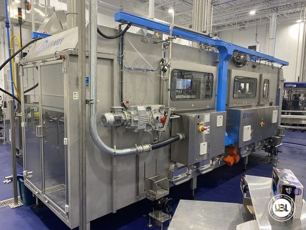 Used Complete PET Line for Water 500 bph - 6