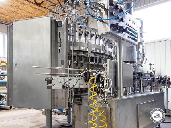 Used Isobaric Filling Machine Sarcmi AZZURRA 60/12/12 - 2