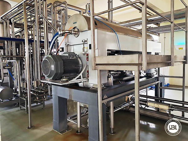 Used Complete Brik Line for Dairy 24000 bph - 18