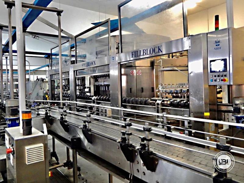 Ligne complète verre d'occasion isobare pour vin mousseux, vin tranquille 8000 bph - 1