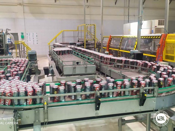 Complete Can Line for Beer - 18