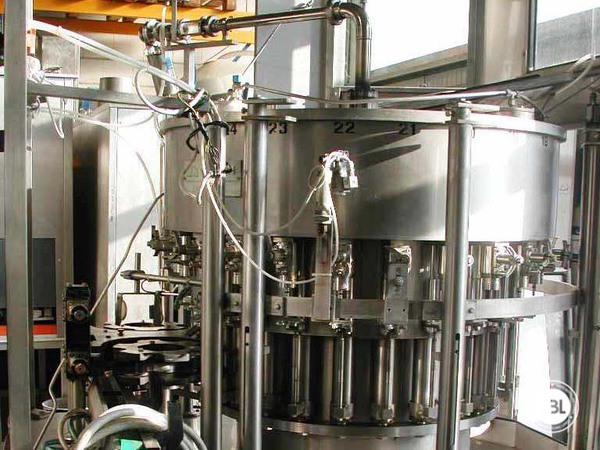 Used Isobaric Filling Machine Vir Mauri 12/24/1 - 3