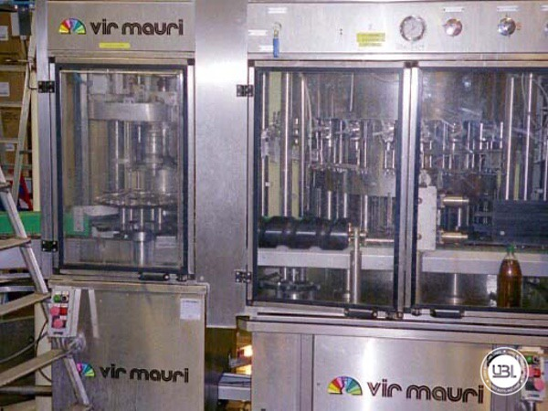 Used Isobaric Filling Machine Vir Mauri 12/24/1 - 6