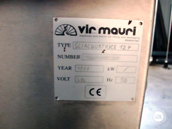 Used Isobaric Filling Machine Vir Mauri 12/24/1 - 7