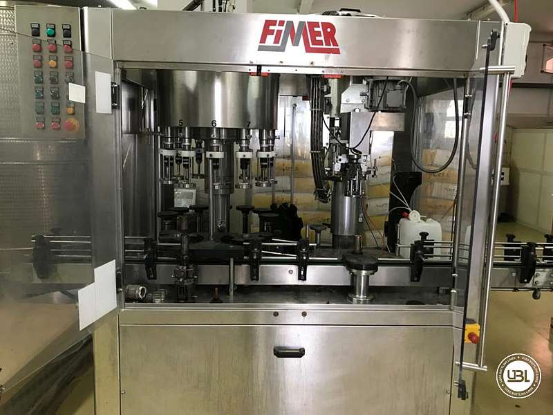Used Complete Glass Line for Oil, Spirits, Still Wine 1500 bph - 1