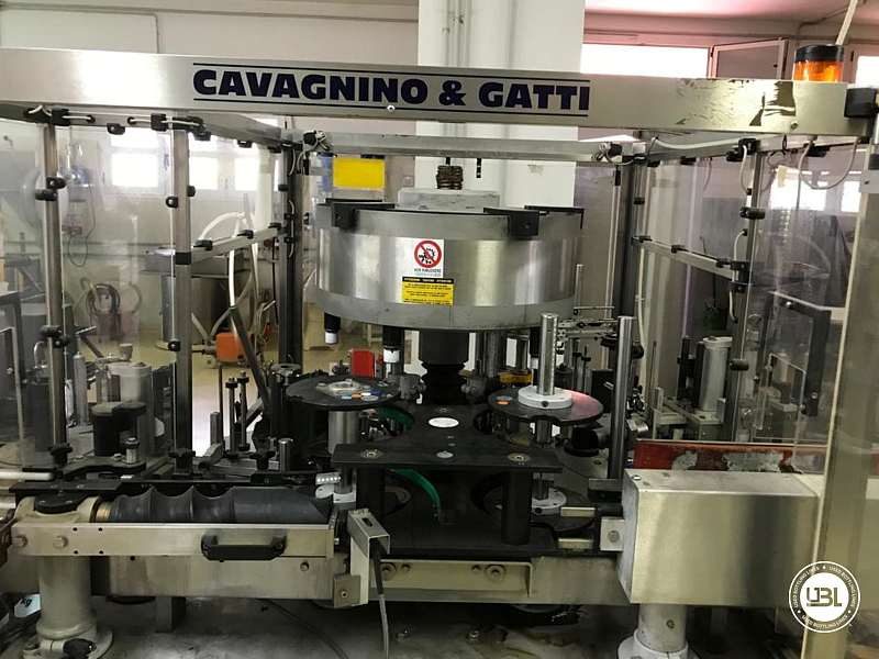 Used Complete Glass Line for Oil, Spirits, Still Wine 1500 bph - 2