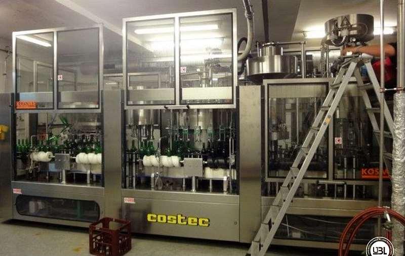 Used Filling Triblock Kosme/Krones still wine SRV20/6/20/3/3 - 1