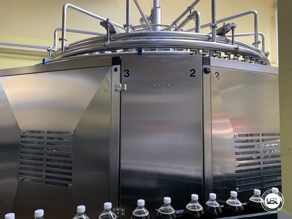 Used Isobaric Complete PET Line for Soft Drinks, Sparkling Water, Water 14000 bph - 36