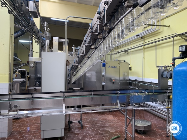 Used Isobaric Complete PET Line for Soft Drinks, Sparkling Water, Water 14000 bph - 38