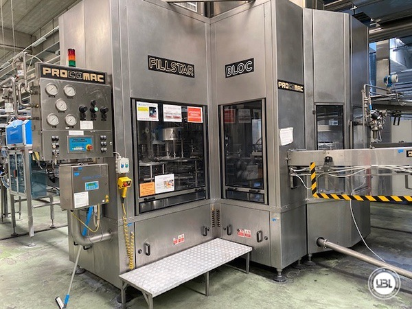 Used Isobaric Complete PET Line for Soft Drinks 18200 bph - 37