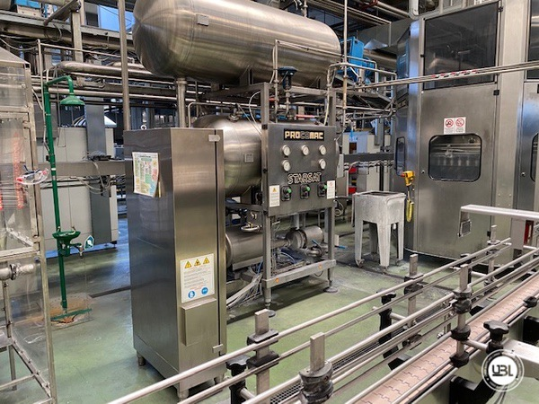 Used Isobaric Complete PET Line for Soft Drinks 18200 bph - 39