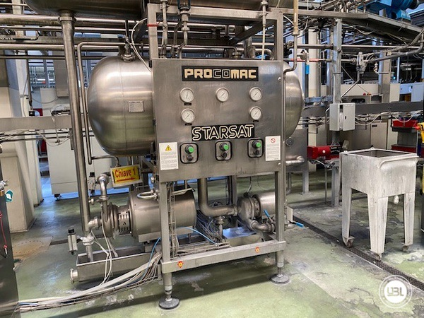 Used Isobaric Complete PET Line for Soft Drinks 18200 bph - 40