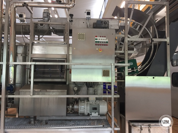 Used Complete Glass Line for Sparkling Water, Water 20000 bph - 10